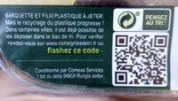 Avocat Hass mûr à point, calibre 18, Pérou, barquette 2 pièces - Informations nutritionnelles - fr