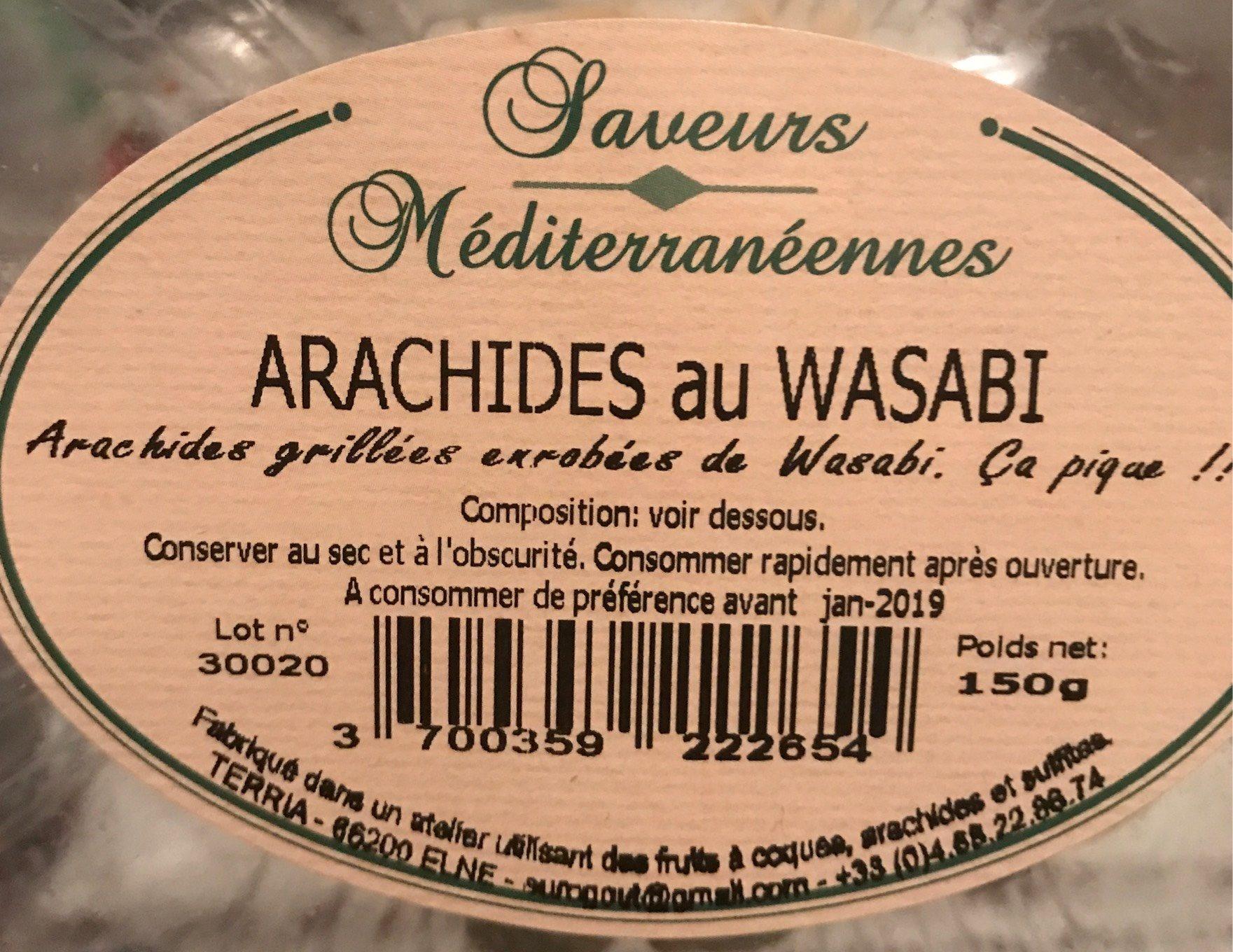 Arachide au wasabi - Produit - fr