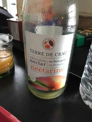 Terre de Crau Les fruits au bon goût de Provence Nectar de Nectarine - Prodotto - fr
