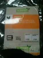 Pennes Poulet Legumes Grilles Tomates Sechees - Produit