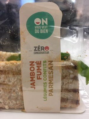 Sandwich Jambon fumé Parmesan - Product
