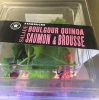 Salade boulgour quinoa saumon & brousse - Product
