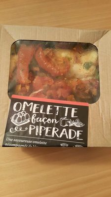 Omelette façon piperade - Product - fr