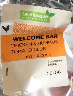 Poulet & Houmous tomate club - Produit