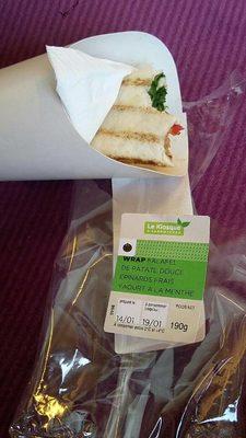 Wrap falafel - Produit