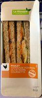 Sandwich club poulet - Produit