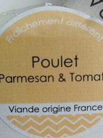 Wrap poulet parmesan et poulet - Product - fr