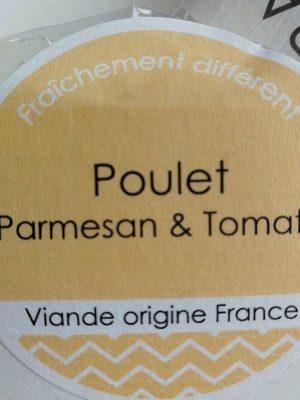 Wrap poulet parmesan et poulet - Product