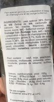 Mozarella Pesto rosso Roquette - Ingrédients