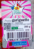 Fraise gariguette - Producto