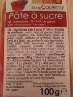 Pâte à Sucre - Rouge - 100G - Scrapcooking - Produit - fr