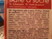 Pâte à Sucre - Rouge - 100G - Scrapcooking - Ingrédients - fr