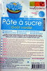 Pâte à Sucre Bleu - Goût Vanillé - Product