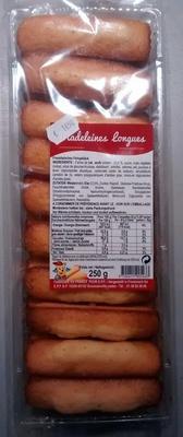 Madeleines longues - Produit