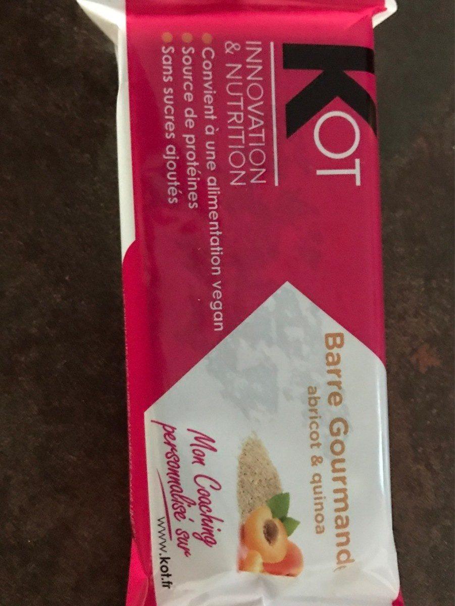 Barre gourmande Abricot Quinoa - Product