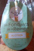 Les fondants de la reine au citron - Produit - fr