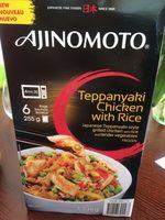 Teppanyaki - Produit