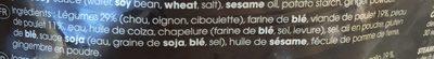 Gyoza de pollo y verduras - Ingredients - fr
