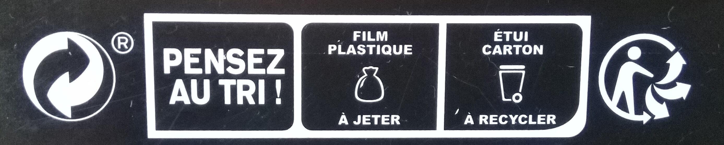 Yasaï Men - Instruction de recyclage et/ou informations d'emballage - fr