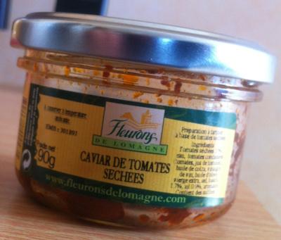 Caviar de tomates séchées - Produit