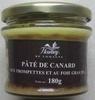 Pâté de canard aux trompettes et au foie gras 20% - Produit