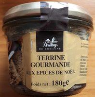 Terrine Gourmande aux épices de noël - Product