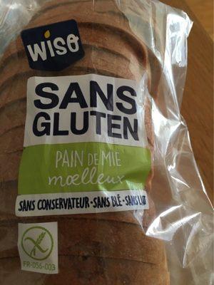 Pain sans gluten - Produit - fr