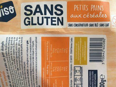 Petits pains aux cereales - Produit - fr
