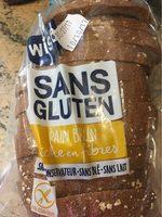 Pain brun sans gluten - Produit