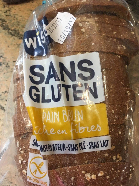 Pain brun sans gluten décongelé - Product - fr