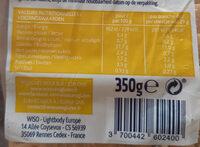 Pain brun sans gluten - Informations nutritionnelles - fr