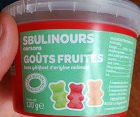 Sbulinours goûts fruités - Produit - fr