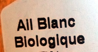 Ail blanc biologique - Ingredienti - fr