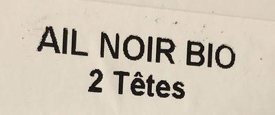 Ail noir - Ingredienti - fr