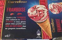 Cone framboise - Produit - fr