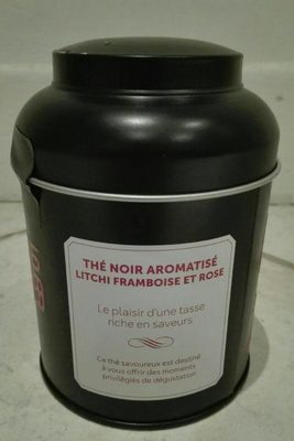 The aromatisé litchi framboise et rose - Product