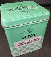 Thé vert et maté aromatisés - Product
