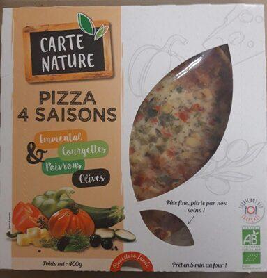 Pizza 4 Saisons bio - Produit - fr