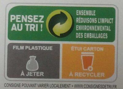 Pizza 4 Saisons - Instruction de recyclage et/ou informations d'emballage - fr