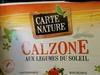 Calzone aux légumes du soleil - Product