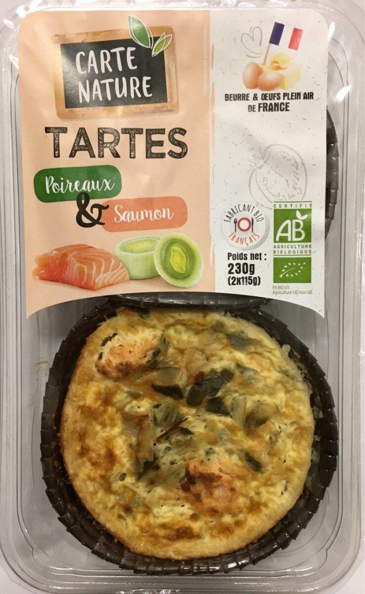 TARTES Poireaux & Saumon - Produit