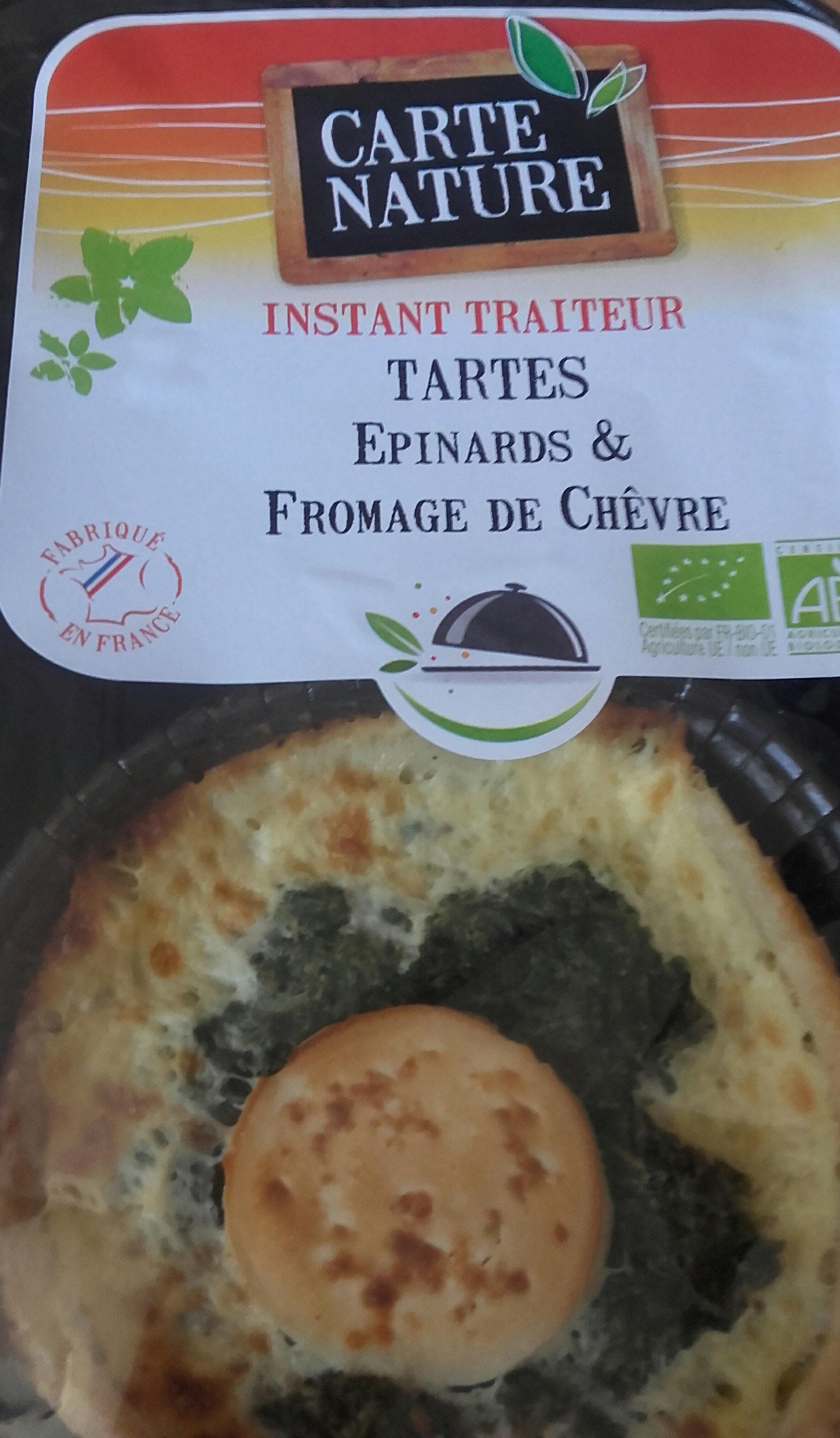 Tarte Epinards Chevre X2 - Produit