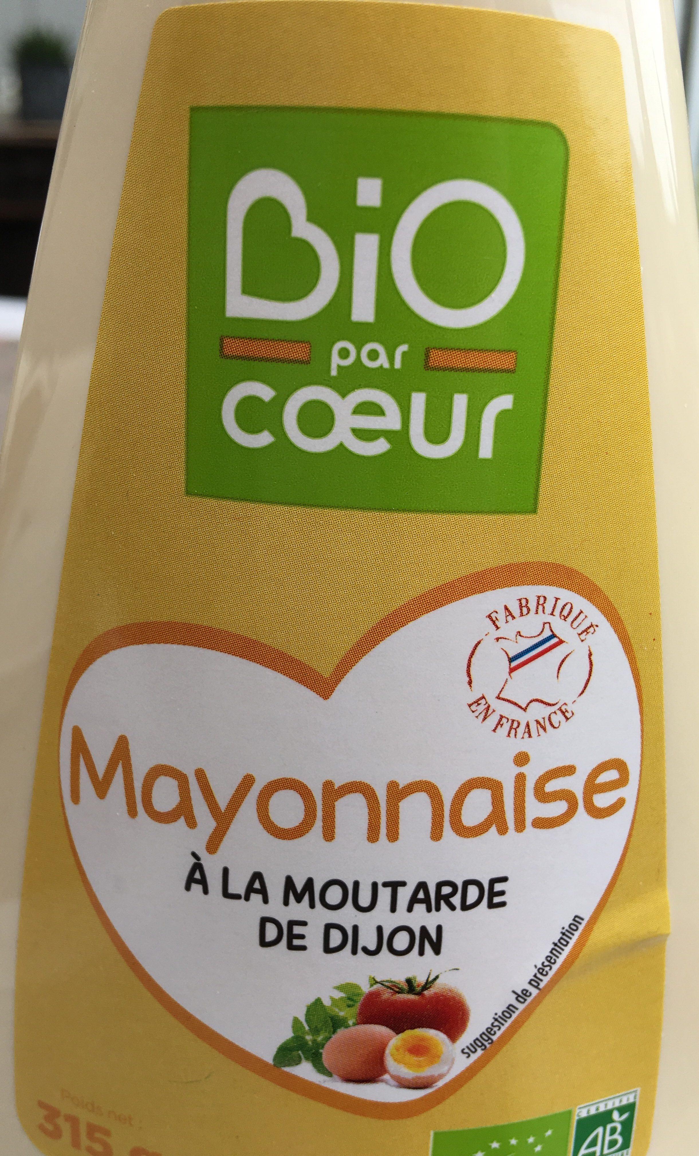 Mayonnaise à La Moutarde De Dijon Tube - Ingrédients