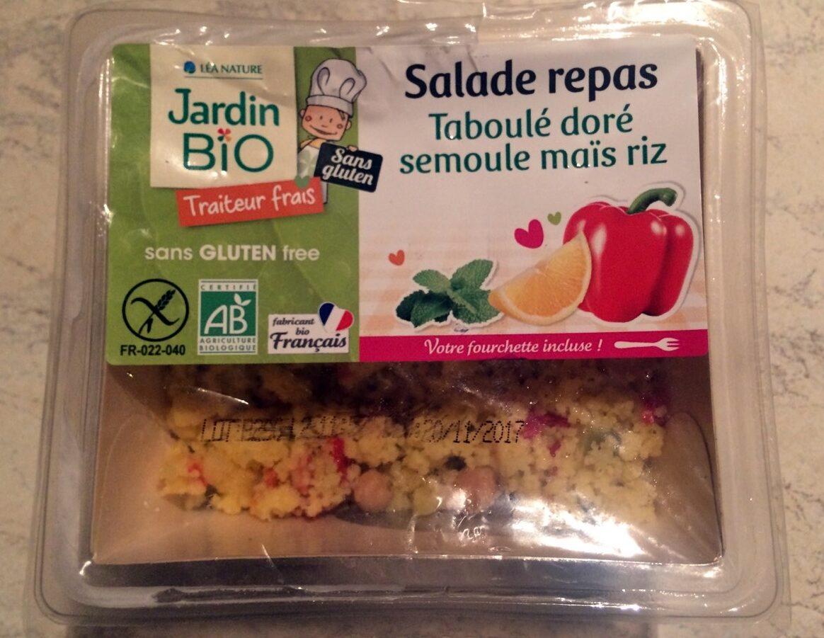 Salade repas taboulé doré semoule maïs riz - Product - fr