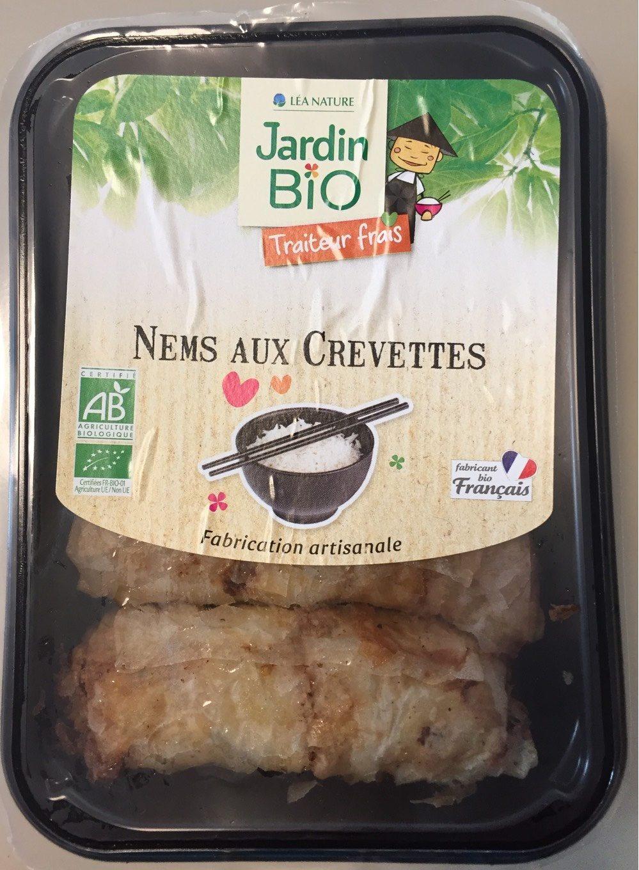 Nems aux crevettes Jardin Biologique - Product