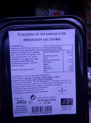 Nems aux légumes - 2