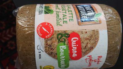 Galette végétale quinoa bourrache - Product