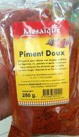 Piment doux - Produit