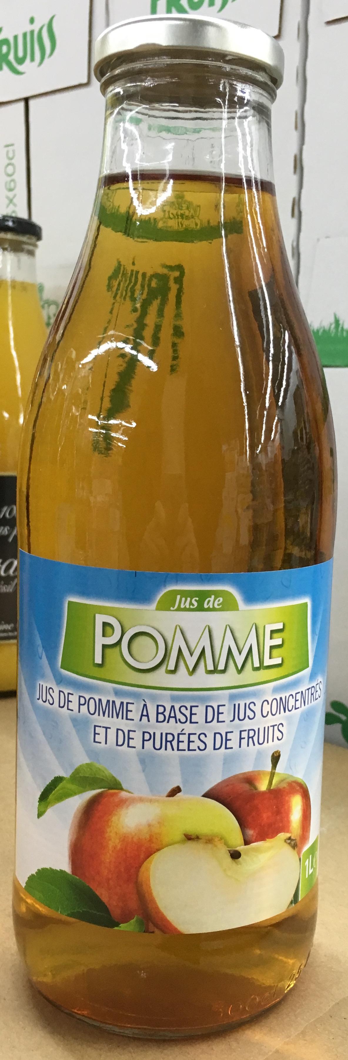 Jus de Pomme - Produit