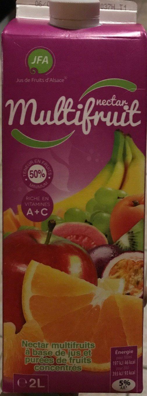 Jus et purée de fruits à base concentrés - Multifruits - Product - fr